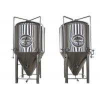 Restaurant Alcohol Conical Beer Stainless Steel Fermenter Micro Brewing Equipment