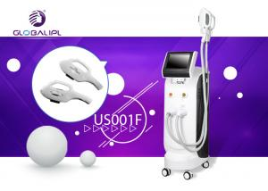 China ABS SHR IPL Machine Permanent Hair Removal Machine Skin Care Black And White Color on sale