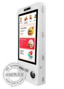 China Restaurant WIFI Android Digital Signage 32 Inch Wall Mountable Food Ordering Machine on sale