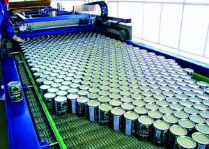 China Full Can Automatic Palletizer Machine , Container Palletizing Systems ISO Marked on sale