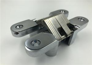 China Low Noise Invisible Spring Hinges With Satin Stainless Steel / Polished Surface on sale