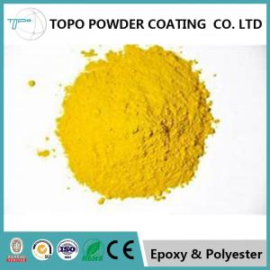 China RAL1012 lemon yellow electrostatic thermoset powder coating  for lighting fixtures on sale