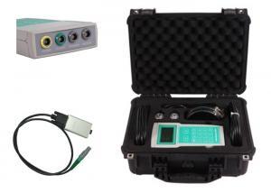 China High Precision Handheld Ultrasonic Flow Meter , Clamp On Ultrasonic Flow Meter on sale