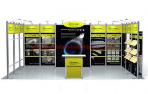Exhibition Shell Scheme For Sale : 3mx6m exhibition display booth exhibition stands fair booth shell