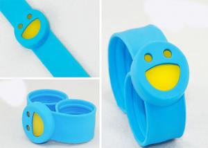 China Portable Anti Slip Safe Silicone Slap Wristband S M L XL Good Looking on sale
