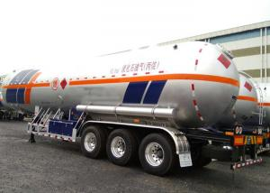 China 61000L LPG Tank Trailer With 3 Axles , Petroleum Gas Lorry Semi Trailer on sale