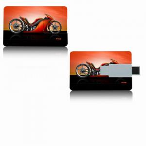 China 4GB Credit Card Promotional USB Flash Drives Customized Card Printing on sale