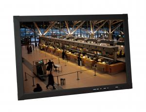 China Ceiling - mounted PAL / NTSC 32 cctv monitors lcd with Aluminium Housing on sale