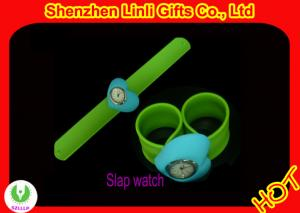 China 2012 Eco-friendly and fashionable digital silicone slap watch with anion  on sale