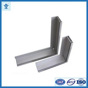 China Powder blasting 6063-T5 / T6 extruded aluminum framing for table edge on sale