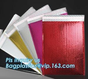China Custom Padded Envelope Jiffy Bags Tear Proof Pink Kraft Paper Air Bubble Mailers Manufacturer, Bubble Mailers Bags Paper on sale