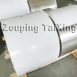 China white lacquered aluminium foil for airline container supplier