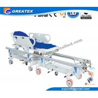 Operating Room Connecting Medical Stretcher , Epoxy Coated Steel surgical stretcher