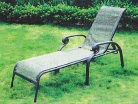 China Alum. Sling Lounge ,Outdoor Furniture,Garden Furniture on sale