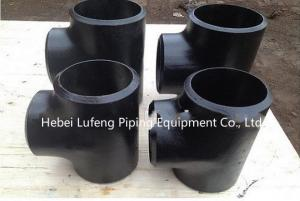 China Iron Casting/ Stainless Steel Pipe Fitting/Forged Equal Tee/Reducing Tee on sale