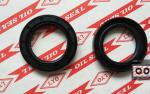 TC framework oil seal,model 34*50*7,NBR material,color is generally biack and brown.