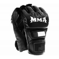 mens mma gloves/ sports gloves/ pu boxing gloves for mixed martial arts.