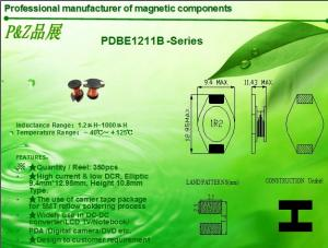 China PDBE1211 Series High current unshielded SMD Power Inductors on sale