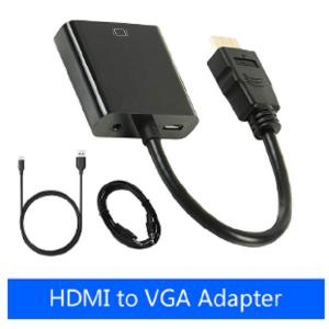 China 1080P HDMI To VGA Adapter Smart Consumer Electronics Male To Female Converter Digital Analog Video on sale