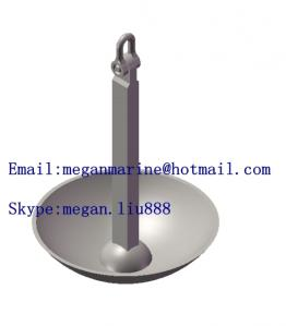 China 1 TON TO 5 TON MARINE BOAT  MUSHROOM  ANCHOR on sale