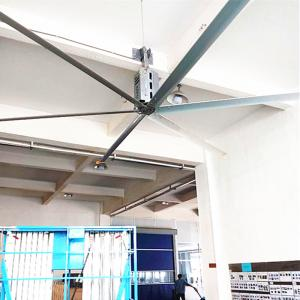 China 24 FT Factory Ceiling Fans 1.5kw High Velocity Ceiling Fans For Large Spaces on sale