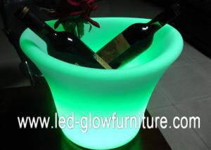 China Decorative Waterproof colour changing Ice Bucket , led flower pot With 16 Colors on sale