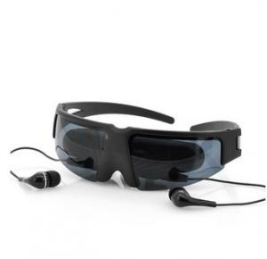 China 1080p hd Portable Wireless Video Glasses Eyewear Mobile Theatre VG260 with AV-in for FPV on sale