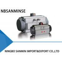 AT Torque Pneumatic Valve Actuator , Spring Return Pneumatic Actuator