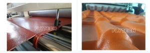 China PVC ROOF TILE EQUIPMENT / PVC ROOF TILE MAKING MACHINE / SPANISH PVC ROOF TILE EXTRUDER on sale