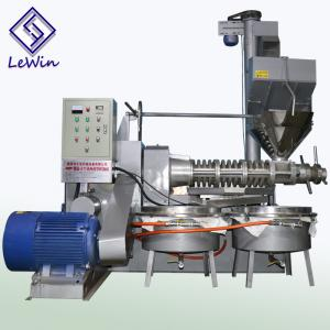 China Cold press peanut oil process machine clear and high quality edible oil on sale