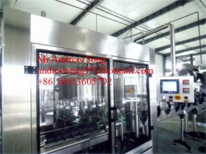 China Automatic Glass Bottle Wine/ Alcohol / Vodka Filling/Wshing/Capping Machine on sale