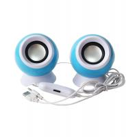 China 2.0 USB computer speaker, colorful pc speaker with fashion design, super bass stereo sound USB speaker on sale