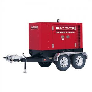 China Baldor TS80T 65KW Industrial Towable Generator with Trailer on sale