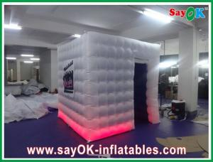China Square Inflatable Photobooth With Company Logo For Photography on sale