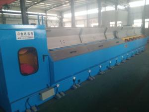 China Easy To Operate 30 DWT Fine Copper Wire Drawing Making Machine With Online Annealer on sale