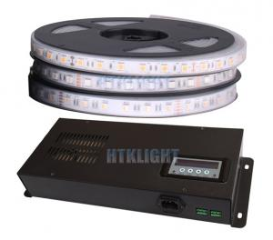 China 50Hz 300W RGB LED Strip DMX Controller Metal Housing In Black Color on sale