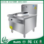Single Heavy Duty Induction Cooker Rust Resistant For Stir Frying / Deep Frying