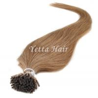 China Full Cuticle Double Drawn Pre Bonded Hair Extensions No Foul Odor on sale