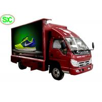 High Definition Mobile Truck LED Display Video , Advertising Truck Led Screen Billboard