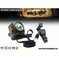 234g Black 8000lux LED Mining Light Digital Cordless Mining Safety Cap Lamps