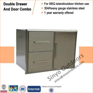China Outdoor Kitchen Drawer and Door Combo on sale