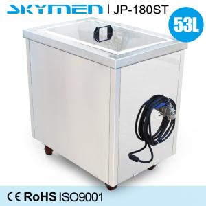 China 50L Ultrasonic Washing Machine , Sonic Cleaning Machine For Chemical Vessels Device on sale