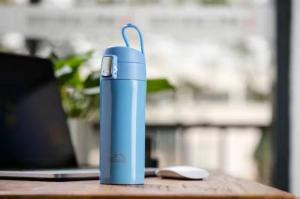 China Colorful outdoor thermos travel water bottle,double wall vacuum insulated mug on sale