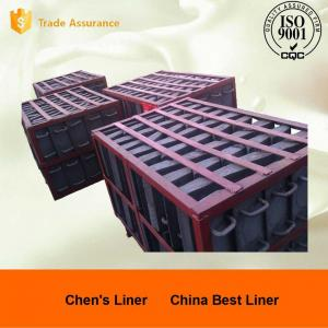 Quality Retension Ring Liners / Cement Mill Liner Plates Hardness HRC52 Coal-fired Power Plant for sale