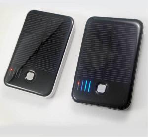 China Smart phone Solar Charger , 5000mAh 5V / 1A Super Fast USB Solar Charger on sale