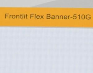 China Frontlit Flex Banner 510G on sale