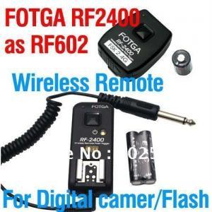 China Fotga Wireless Flash Trigger for Canon 430EX 580EX NIKON SB900 SB800 as YONGNUO RF602 on sale