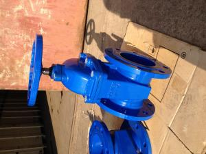 China DIN resilient gate valve on sale