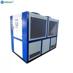 China Best Price Mgreenbelt Low Temperature -15 C 40 Kw Air Cooled Water Chiller For Pharmaceuticals on sale