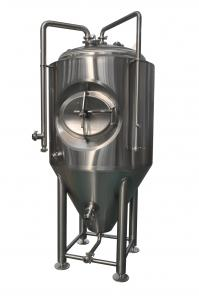 China 1 BBL Stainless Steel Beer Fermenter , Bar Stainless Steel Beer Fermentation Tank 3mm on sale